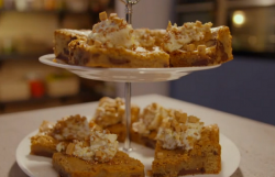 Simon Rimmer's chocolate caramel tray bake on Eat the Week with Iceland
