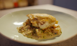 Simon Rimmer chicken with celeriac on Eat the Week with Iceland