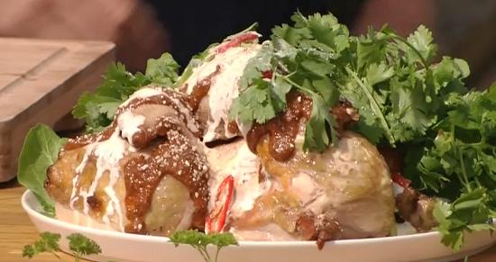 Neil Rankin's Chipotle miso chicken on Saturday Kitchen