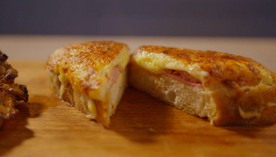 Simon Rimmer's smoky pork chops and croque monsieur on Eat the Week with Iceland