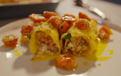 Simon Rimmer's salami cannelloni on Eat the Week with Iceland