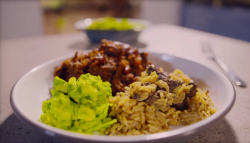 Simon Rimmer's Texas chilli with chicken livers on Eat the Week with Iceland