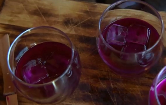 Fermented beetroot kvass on Countryfile