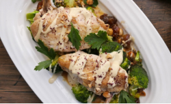 Simon Rimmer chicken with Broccoli and Dates on Sunday Brunch