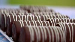 Prue Leith's chocolate mini rolls recipe on Bake Off 2017