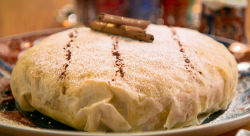 The Karim Family's Moroccan filo pie on The Big Family Cooking Showdown