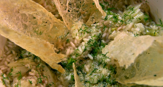 The Charlies fennel and lemon risotto on The Big Family Cooking Showdown