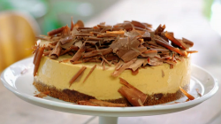 Jamie Oliver frozen banoffee cheesecake on Jamie's Quick and Easy Food