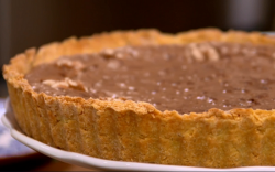The Massaccesi's torta nera chocolate, coffee and walnut tart on The Big Family Cooking Sh ...