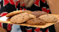 Ralph Rolle's cookies on Sunday Brunch