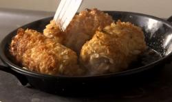 James Strawbridge  Cornish chicken and chorizo croquettes with salsa verde on The Hungry Sailors