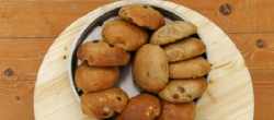 Yan's masala chai spiced teacakes on Bake Off 2017