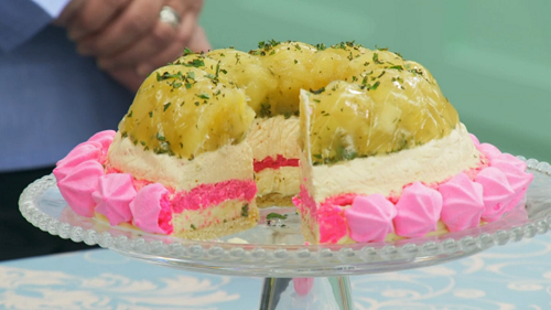 Stacey's showstopper tropical  trifle terrine on The Great British Bake Off 2017
