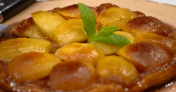 Mark Bellamore's Tarte tatin with calvados cream dessert on The Big Family Cooking Showdown