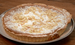 The Boyes bakewell tart with homemade jam on The Big Family Cooking Showdown