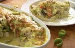 Rick Stein's cod gratin fish stew with Bearnaise sauce on Saturday Kitchen