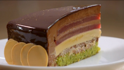Entremet cake on The Great British Bake Off 2017 final
