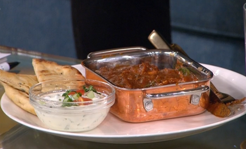 Morrison's volcanic vindaloo Britain's hottest supermarket curry on This Morning
