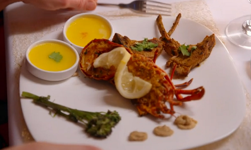 Luthfur and Inayat's Masala tamarind lamb and lobster with flavoured butters on My Kitchen ...