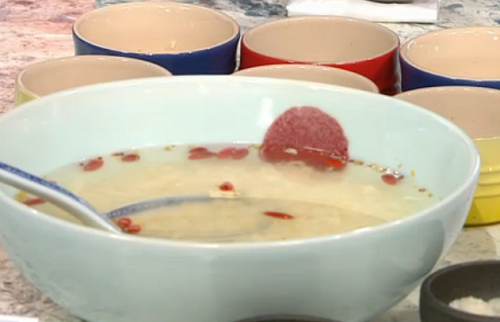 Lillian's jiu Niang yuan zi soup Chinese dessert on Sunday Brunch