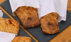 Steven's 'Mediterranean medley' Bedfordshire clangers on Bake Off