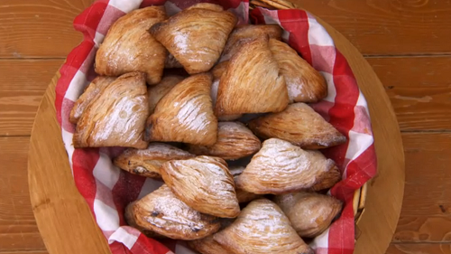 Steven's 'Sicilian-style' sfogliatelle on The Great British Bake Off 2017
