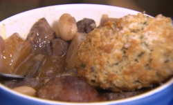 James Strawbridge's beef, chorizo and pheasant casserole on The Hungry Sailors