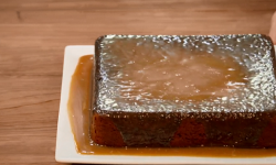 The Charles family sticky toffee pudding on The Big Family Cooking Showdown