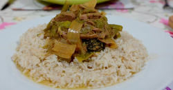 Angela's gluten free Thai beef curry on Eat Well for Less?