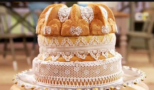 Victorian Savoy Cake on The Great British Bake Off 2017