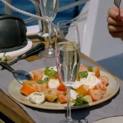 Caprese salad on Gino's Italian Coastal Escape