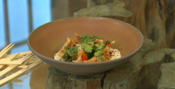 Miles Kirby's Chinese dumplings on Saturday Kitchen
