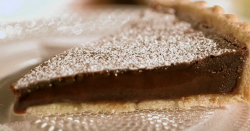 Mary Berry's  warm chocolate fondant tart on Saturday kitchen