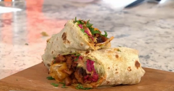 Rebecca Seal Vegan doner kebab on Sunday Brunch