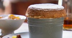 Anna Haugh's Bara brith soufflés on Royal Recipes