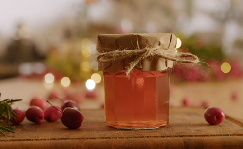 Kristian Bigland's crab apple jelly on The Hairy Bikers Home for Christmas