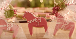 Vanessa Dennetti Swedish dala horse  biscuits on The Hairy Bikers Home for Christmas