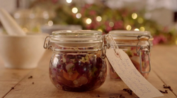 Kristian Bigland's kimchi gift on on The Hairy Bikers Home for Christmas