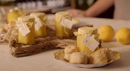 Vanessa Dennett lemon curd recipe on The Hairy Bikers Home for Christmas