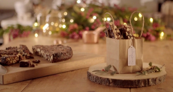 Lisa's Italian panforte gifts on  The Hairy Bikers Home for Christmas