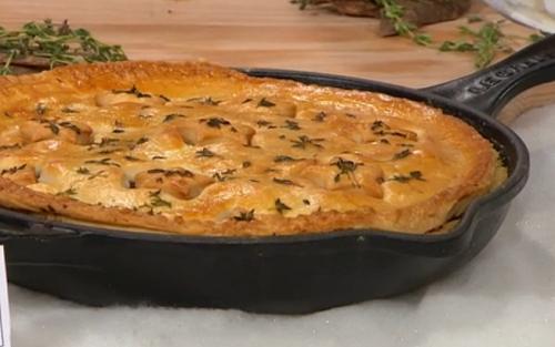 Adria Wu's Canadian veggie tourtiere recipe on Sunday Brunch