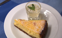 James Strawbridge kernow cheesecake with mojito glaze on The Hungry Sailors