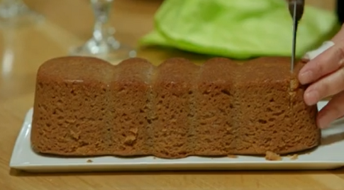 Corsican chestnut cake on  the Hairy Bikers' Mediterranean Adventure