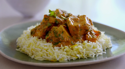 Tom Kerridge low calorie chicken tikka masala on Tom Kerridge's Lose Weight For Good