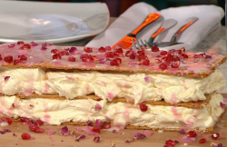John Gregory-Smith Moroccan mille-feuille with rosewater on Sunday Brunch