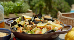 The hairy bikers frutti di mare with saffron fregola pasta