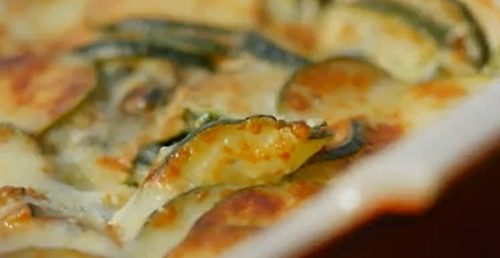 The Hairy Bikers stuffed mussels with courgette gratin