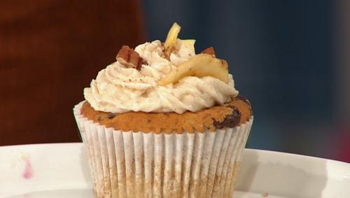 Bosh maple banana bread choc chip cupcakes  on Sunday Brunch