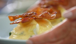 Mary Berry eggs Benedict Florentine on The One Show