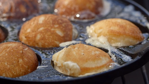 Nickolas Ekstedt Swedish doughnuts with cloudberry jam : Classic Mary Berry